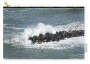 Wave On The Rocks Carry-all Pouch