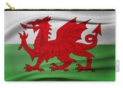 Welsh Flag Carry-all Pouch