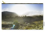 West Coast Range Landscape In Tasmania Australia Carry-all Pouch