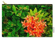 West Indian Jasmine In Sukhothai Historical Park-thailand Carry-all Pouch