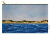 West Michigan Dunes Carry-all Pouch by Michelle Calkins