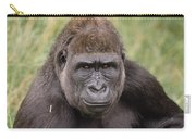 Western Lowland Gorilla Young Male Carry-all Pouch