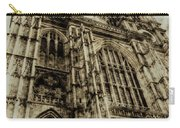Westminster Abbey London Vintage Carry-all Pouch