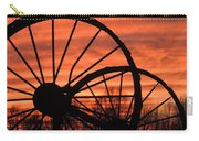 Wheel-n-axle Sunset.. Carry-all Pouch