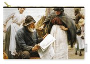 When The Boats Are Away Carry-all Pouch by Walter Langley