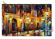 When The City Sleeps Carry-all Pouch by Leonid Afremov