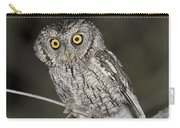 Whiskered Screech Owl Carry-all Pouch