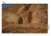 White Canyon Sinai Desert Egypt Carry-all Pouch