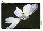 White Flower In Bloom Carry-all Pouch