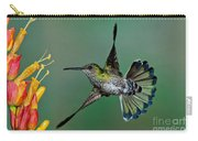 White-necked Jacobin Carry-all Pouch