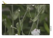 White Rose Campion Carry-all Pouch