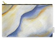 White Rose Two Panel Four Of Four Carry-all Pouch