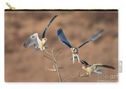 White-tailed Kite Siblings Carry-all Pouch