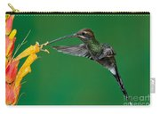 White-whiskered Hermit Carry-all Pouch