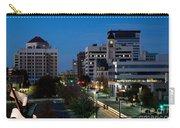 Wichita Skyline At Dusk From Waterwalk Carry-all Pouch