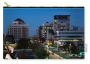 Wichita Skyline At Dusk From Waterwalk Carry-all Pouch
