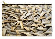 Wicker Carry-all Pouch