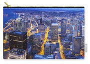 Wide Seattle Cityscape Carry-all Pouch
