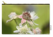 Wild Black Raspberry Blossom Carry-all Pouch