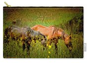 Wild Horses In California Series 2 Carry-all Pouch