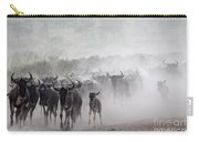 Wildebeest Migration Carry-all Pouch