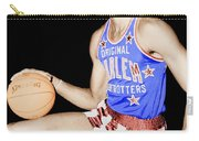 Wilt Chamberlain As A Member Of The Harlem Globetrotters  Carry-all Pouch