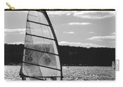 Wind Surfer Bw Carry-all Pouch