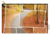 Winding Alley In Fall Carry-all Pouch