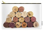 Wine Corks Carry-all Pouch by Elena Elisseeva