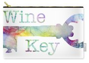 Wine Key Watercolor Carry-all Pouch