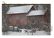 Winter Barn Carry-all Pouch
