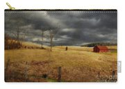 Winter Begins Carry-all Pouch by Lois Bryan