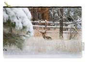 Winter Doe Carry-all Pouch