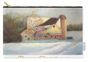 Winter Hush Holiday Card1 Carry-all Pouch