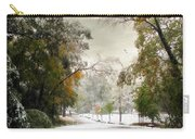 Winter In Autumn Carry-all Pouch