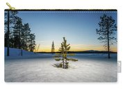 Winter Landcape, Jukkasjarvi, Lapland Carry-all Pouch
