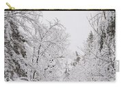 Winter Road Carry-all Pouch by Cheryl Baxter
