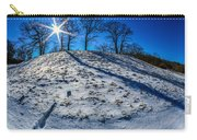 Winter Scinery In The Mountains With Bllue Sky And Sunshine Carry-all Pouch