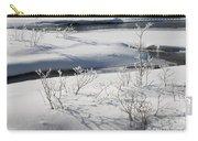 Winter Stream, Jasper National Park Carry-all Pouch