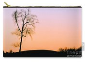 Winter Sunset Tree Carry-all Pouch