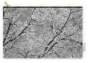 Winter Tree Scene Carry-all Pouch