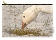 Wintering Snow Goose Carry-all Pouch