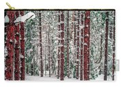 Winters Forest Carry-all Pouch