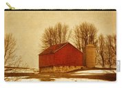 Wisconsin Barn In Winter Carry-all Pouch