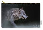 Wolf On The Prowl Carry-all Pouch