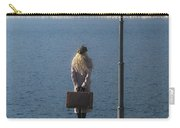Woman On Jetty Carry-all Pouch