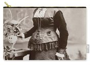 Women's Fashion, 1880s Carry-all Pouch