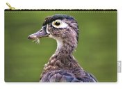 Wood Duck Juvenile Carry-all Pouch