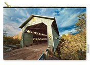 Wooden Covered Bridge  Carry-all Pouch