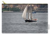 Wooden Ship On The Water Carry-all Pouch